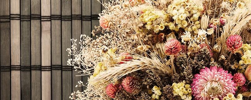 Slow flower - fleurs séchées françaises - Crédit photo : blog.oleomac.fr