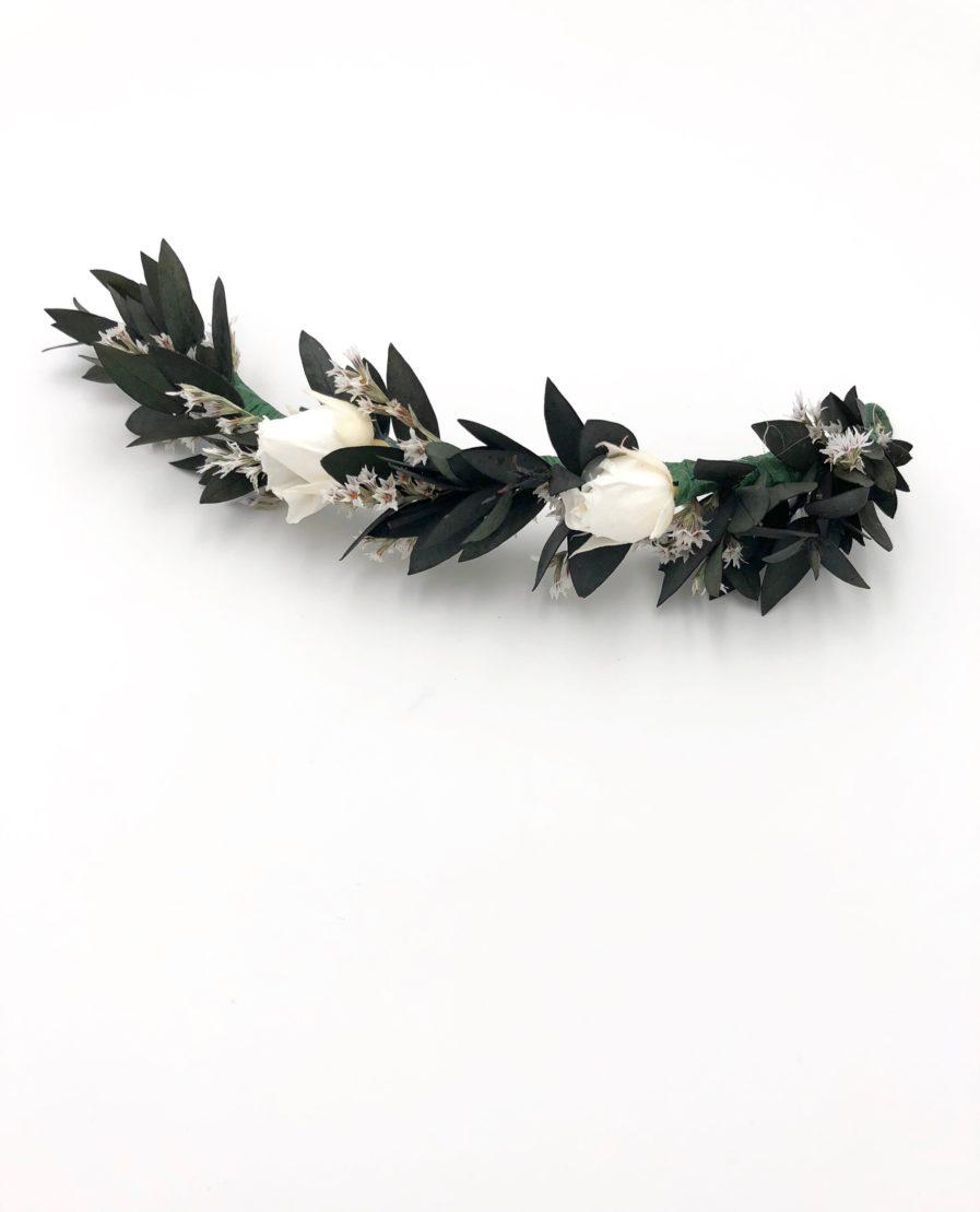 Barrette de mariage Foglia - Les Fleurs Dupont - Chic et champêtre