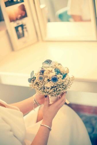 Bouquet de la mariée Céleste - Photo Nancy Ricard - Mariage de Sarah - Les FLeurs Dupont