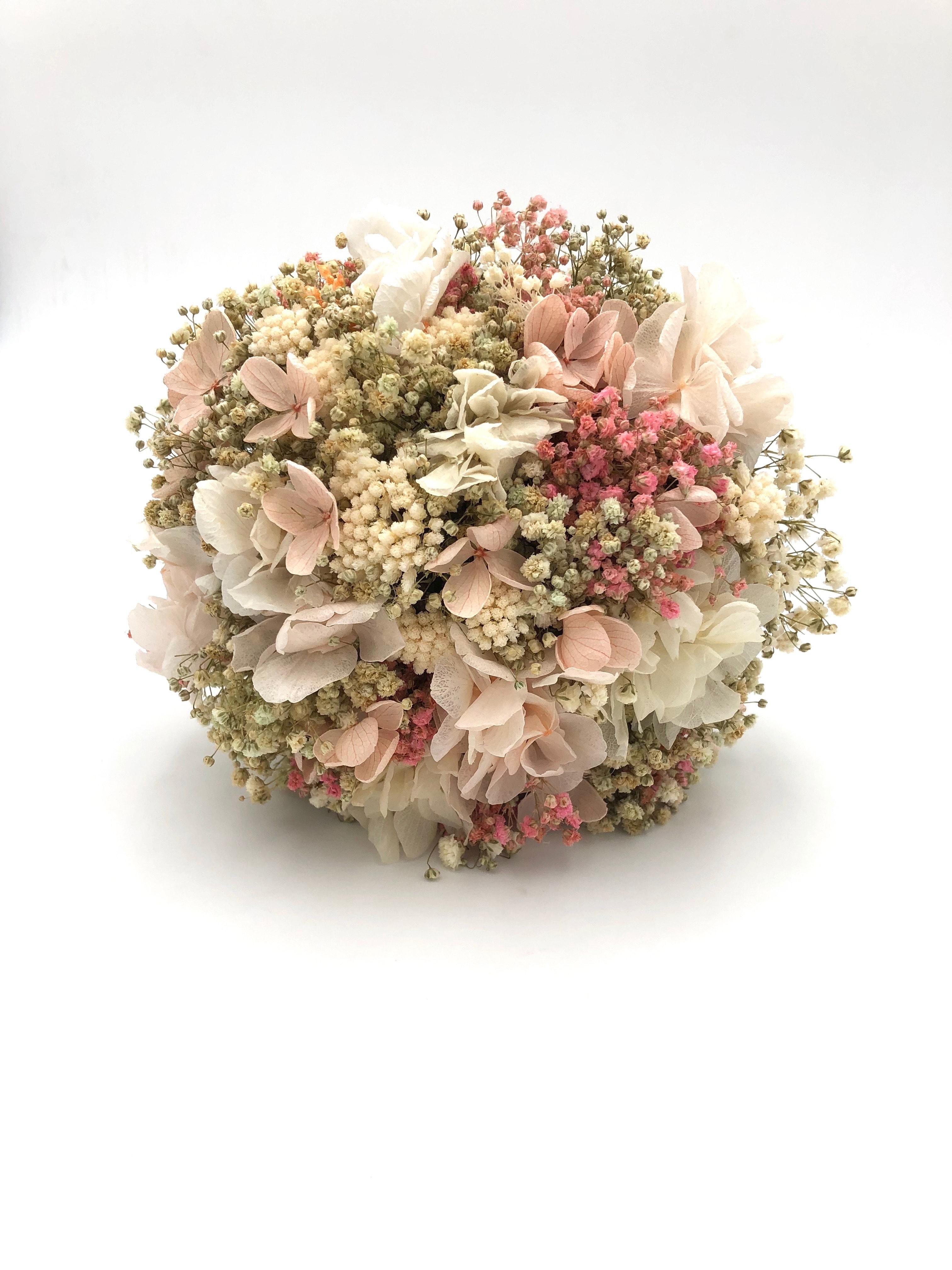 Bouquet de la mariée Candi en fleurs stabilisées , Les Fleurs Dupont