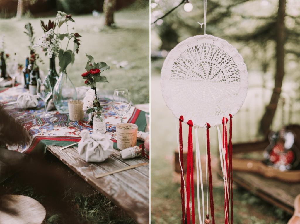 Décoration mariage folk - madame-b-photographie.com - Les Fleurs Dupont