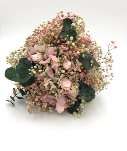 Bouquet de la mariée Confetti en fleurs stabilisées - Collection Romantique