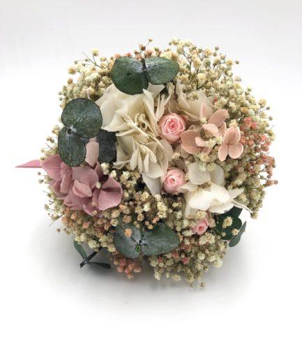 Bouquet de la mariée en fleurs stabilisées Confetti - Collection Romantique