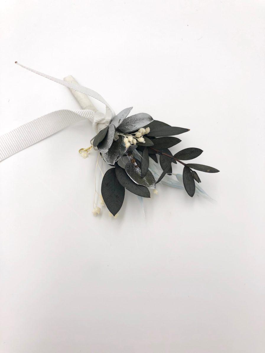 Boutonnière du marié Turquin - Les Fleurs Dupont