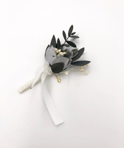 Boutonnière de mariage Turquin - Les Fleurs Dupont