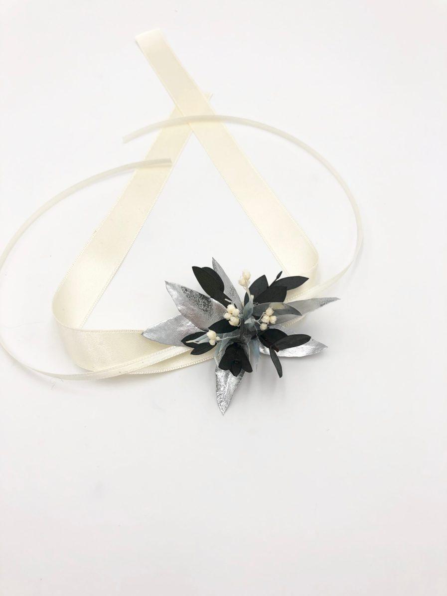 Bracelet de demoiselle d'honneur Turquin - Les Fleurs Dupont
