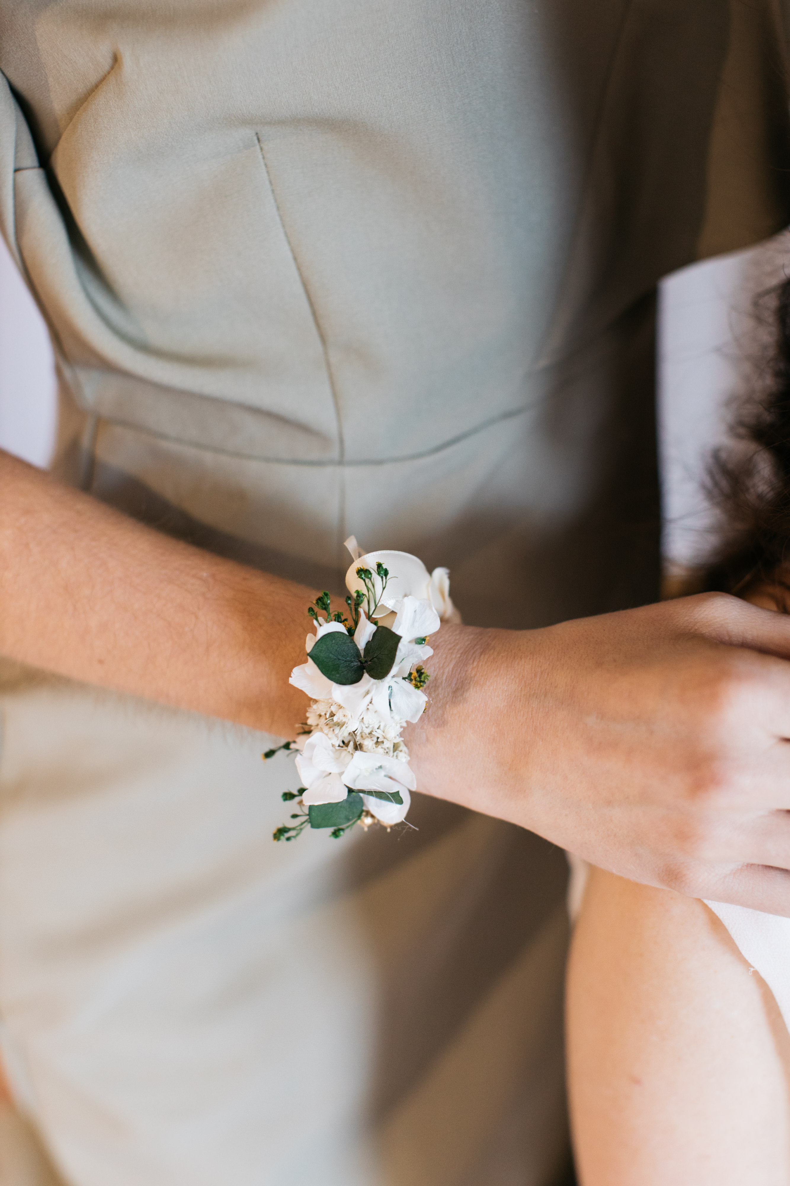 Bracelet de demoiselles d'honneur Minthé