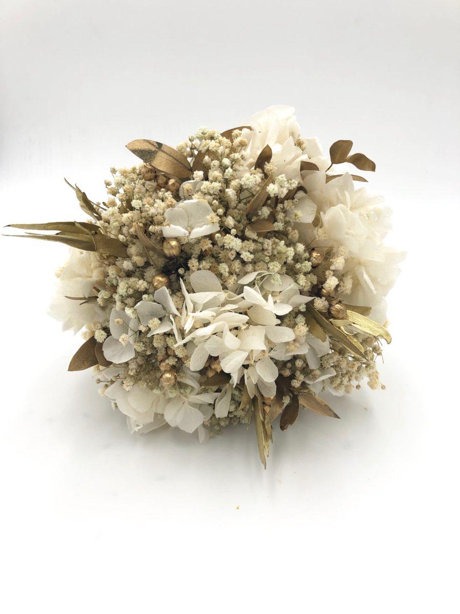 Bouquet de la mariée rond en fleurs éternelles Ori pour 2019 2020