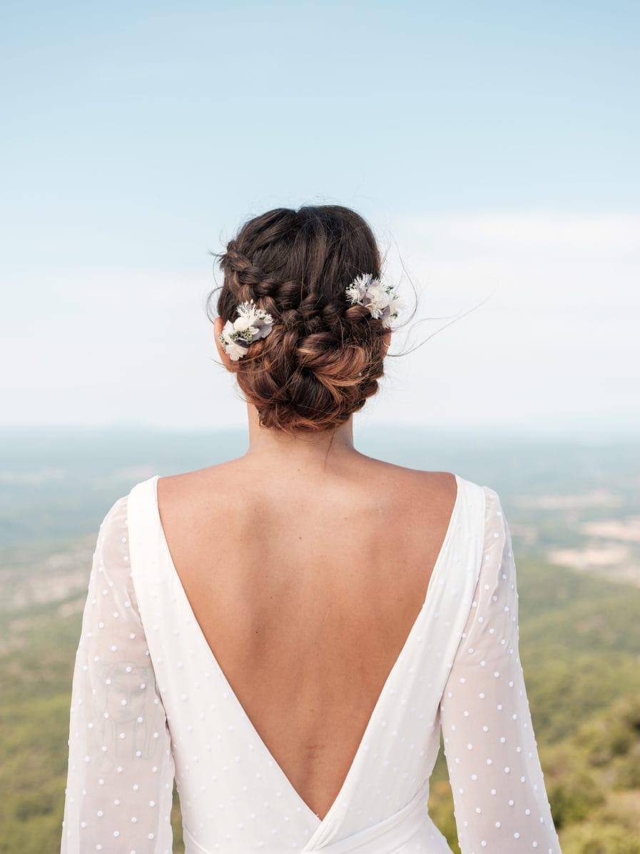 Peigne mini Duo Horizon - Deux peignes mini pour la mariée