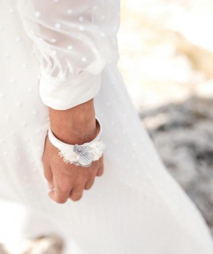 Bracelet jonc fleuri Horizon - Les Fleurs Dupont