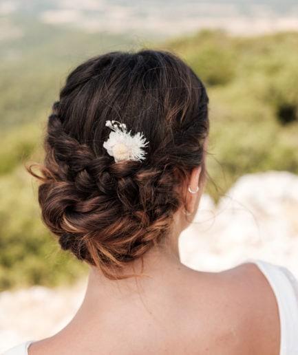 Grand pic à chignon Nimbe - Les Fleurs Dupont - Photo Ilan Dehé