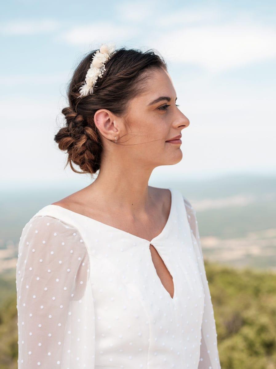 Headband de mariage Nimbe - Les Fleurs Dupont