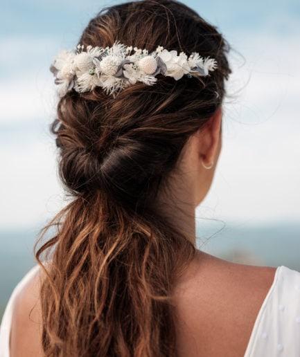 Peigne de fleurs Horizon long - Les Fleurs Dupont - Photographie Ilan Dehé