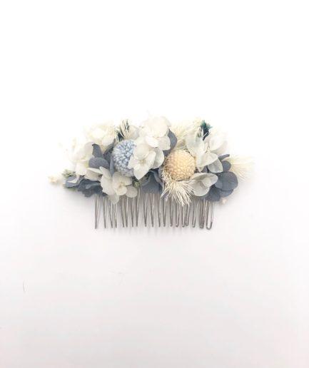 Peigne en fleurs stabilisées Horizon - Les Fleurs Dupont - Collection Horizon