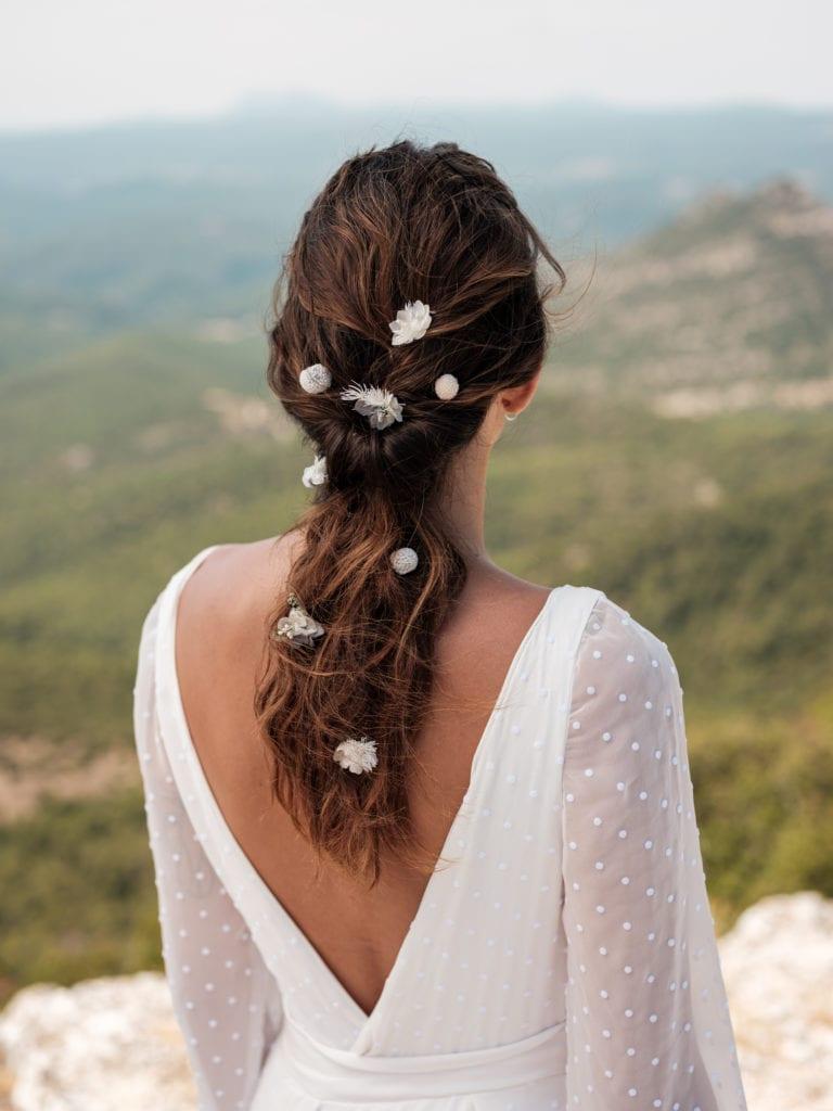 Pic à cheveux mélange de fleurs Horizon - Photo Ilan Dehé