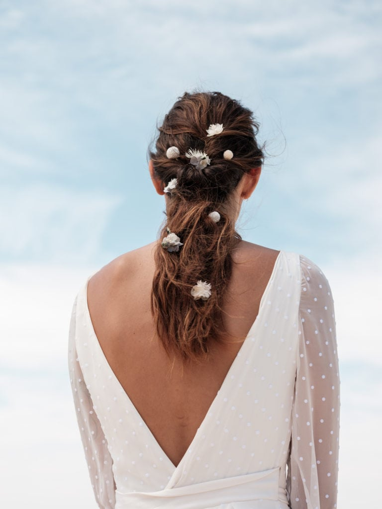 Pics à cheveux en fleurs Horizon - Photo Ilan Dehé