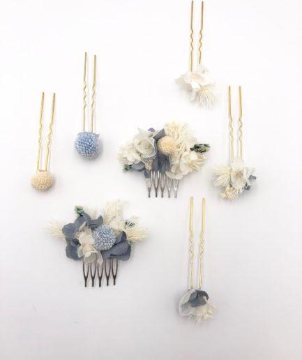Set peigne et pics Horizon - accessoire de cheveux pour la mariée
