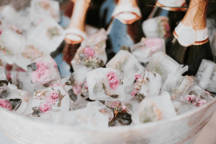 Mimosa bar pour le mariage