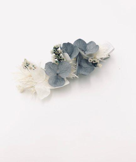 Mini barrette Horizon en fleurs pour les petites filles