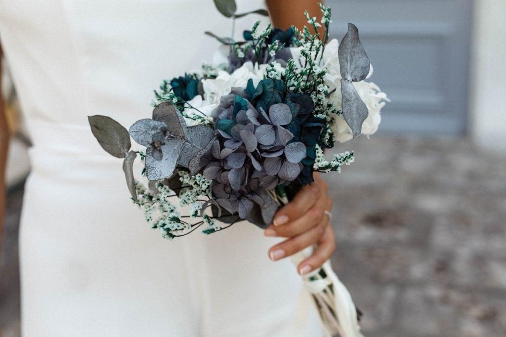 Bouquet en fleurs stabilisées Horizon - Yasmin Hassaïne et Les Fleurs Dupont