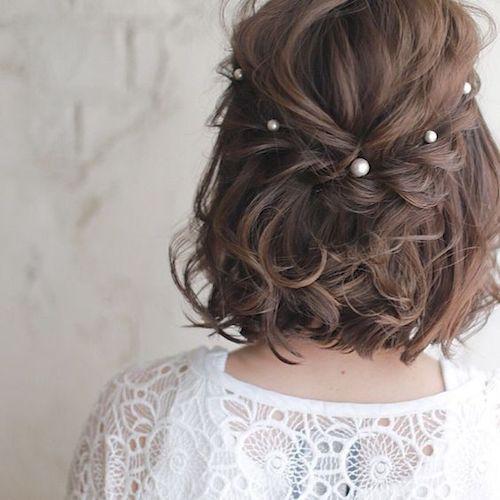 Quel Accessoire Pour La Mariee Aux Cheveux Courts Les Fleurs