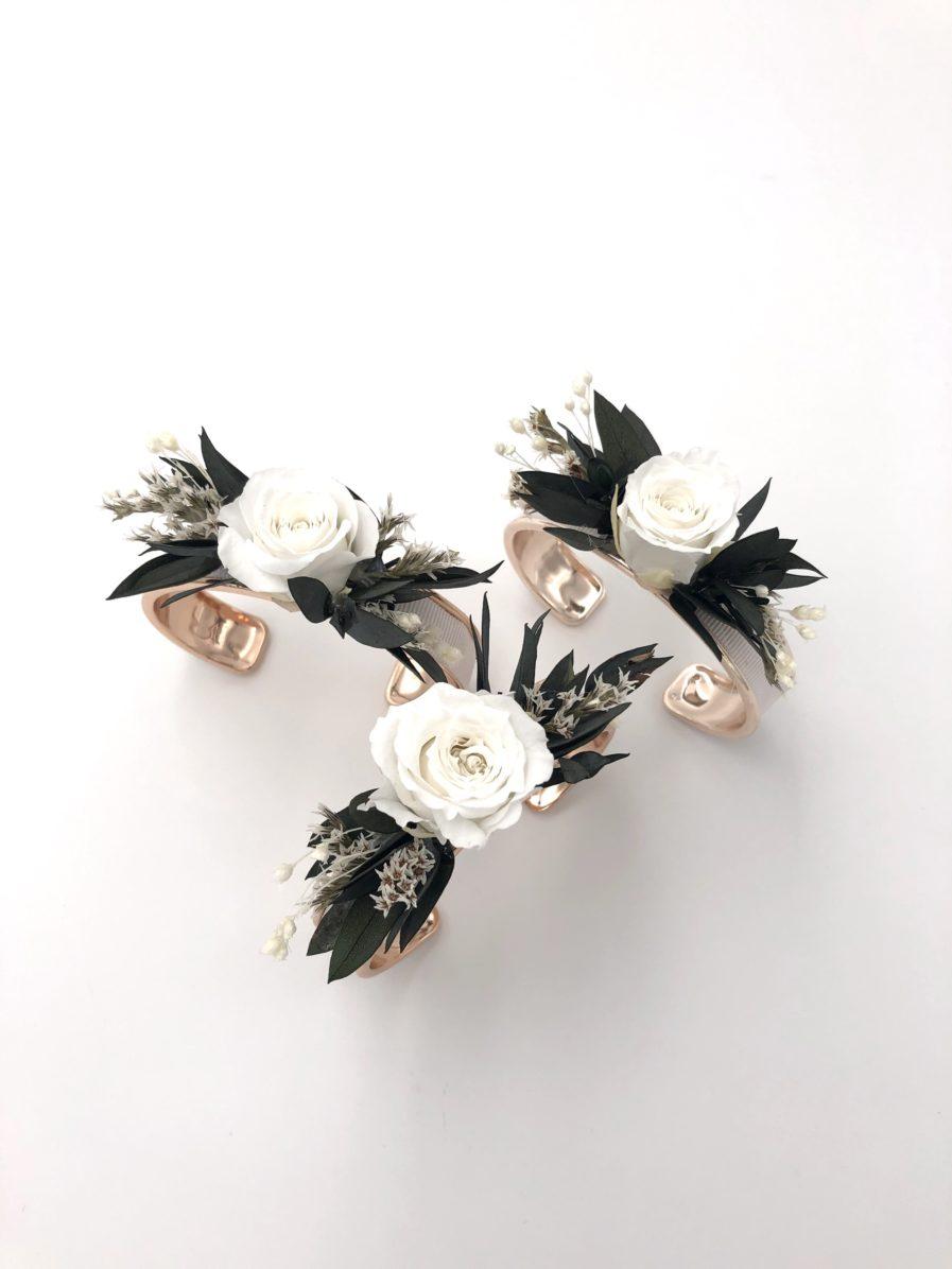 Joncs Foglia en fleurs stabilisées