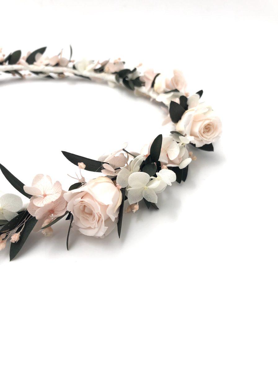 Couronne de fleurs Lima pour la mariée