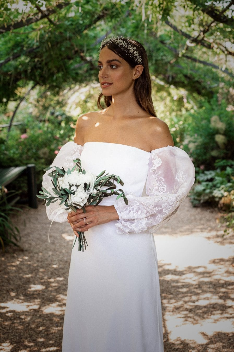 Les Fleurs Dupont X Yasmin Hassaïne - Bouquet de la mariée Elaia
