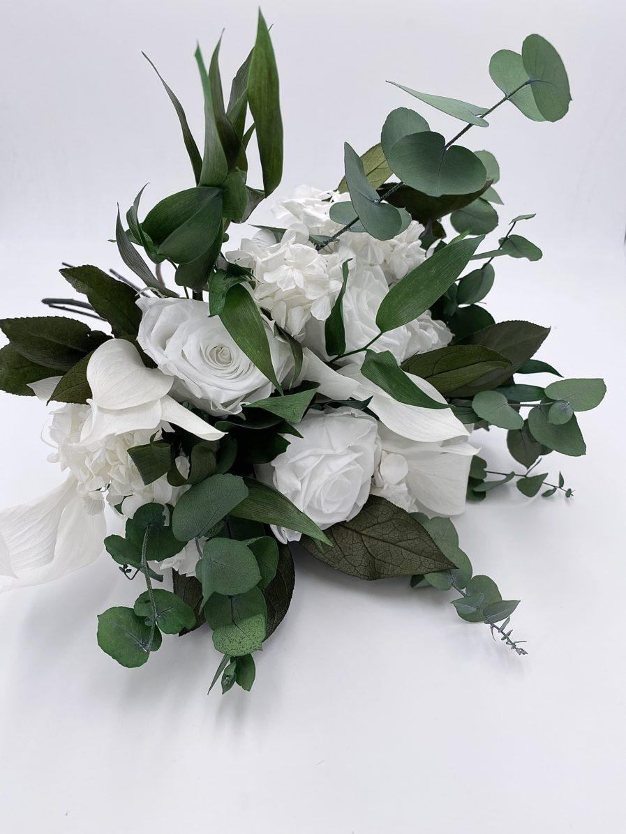Bouquet en feuillages stabilisés Foglia