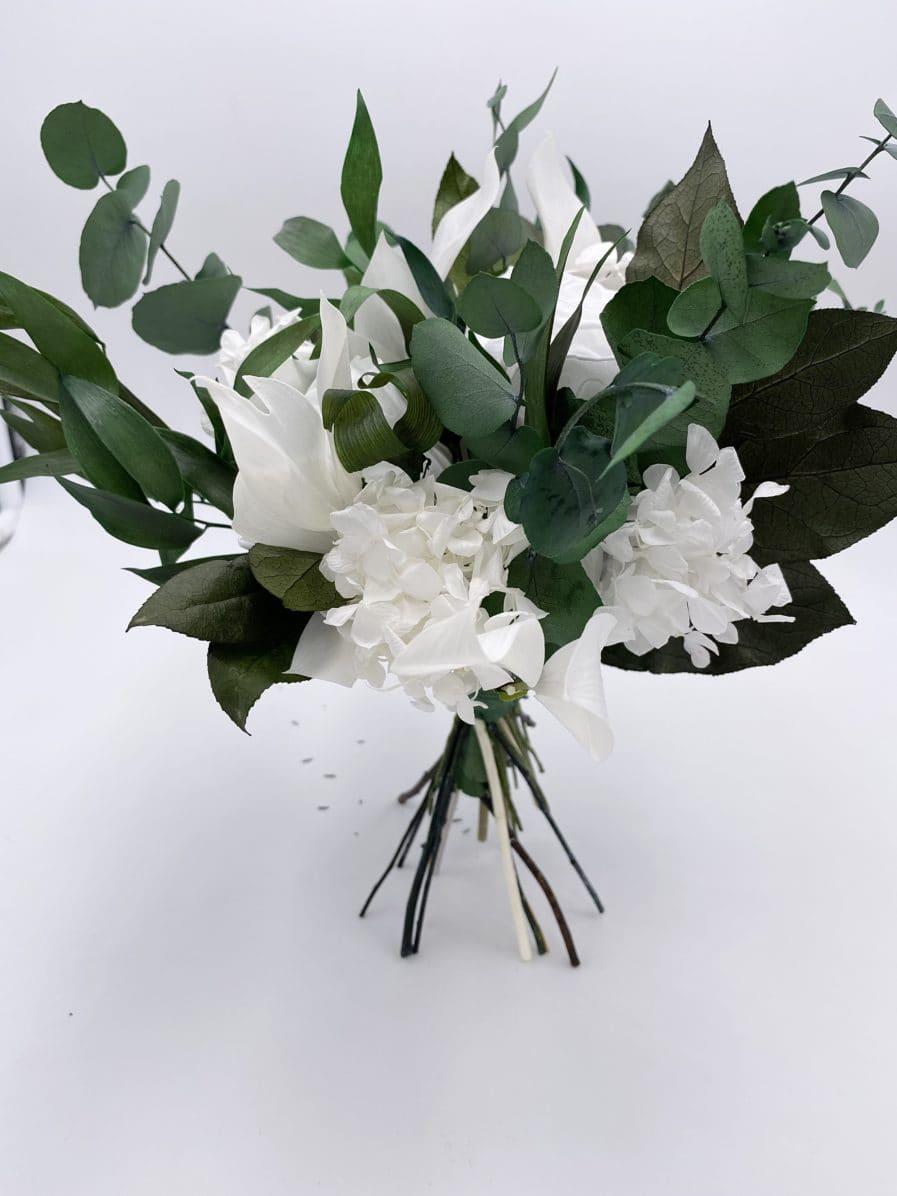 Bouquet en fleurs durables Foglia