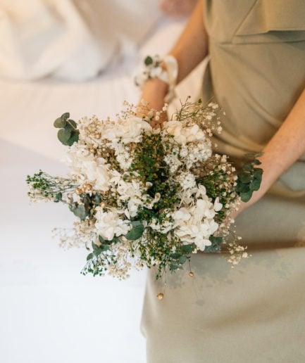 Bouquet en fleurs séchées Minthé
