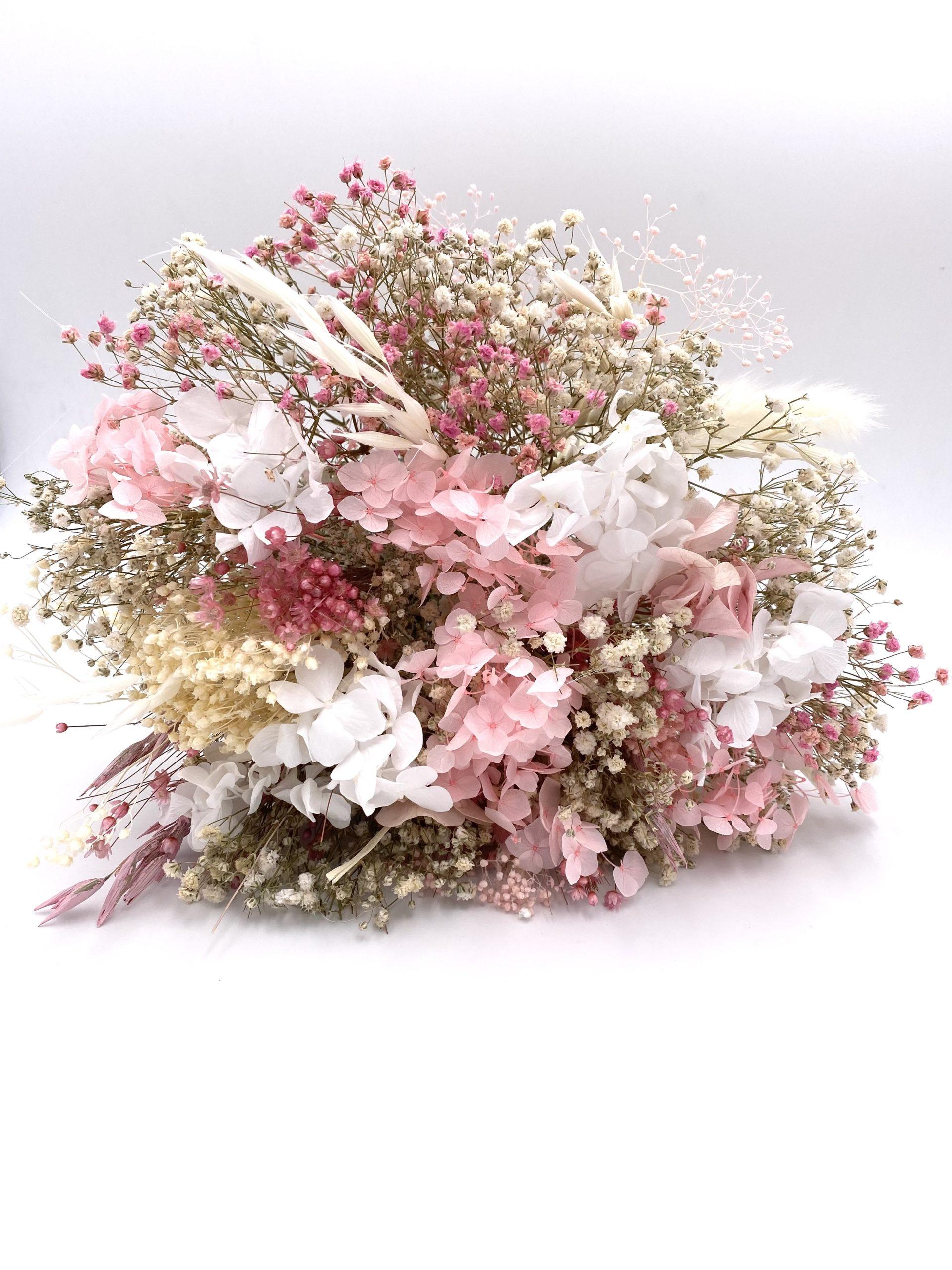 Bouquet en fleurs séchées pour la mariée Candi