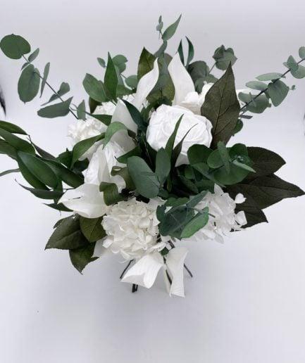 Bouquet en fleurs stabilisées Foglia pour la mariée