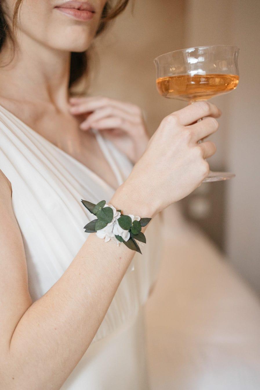 Bracelet en fleurs stabilisées Foglia