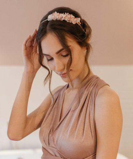 Headband en fleurs stabilisées Candi mini