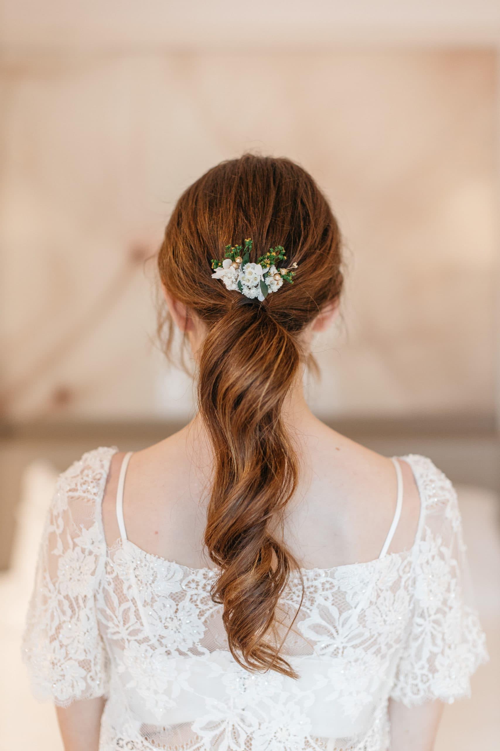 Petit peigne Minthé en fleurs