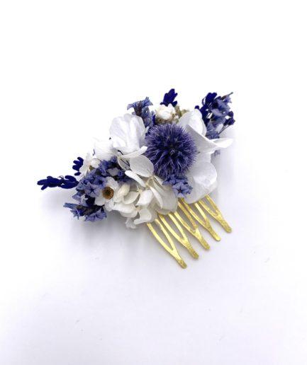 peigne mini pour la mariée Violine