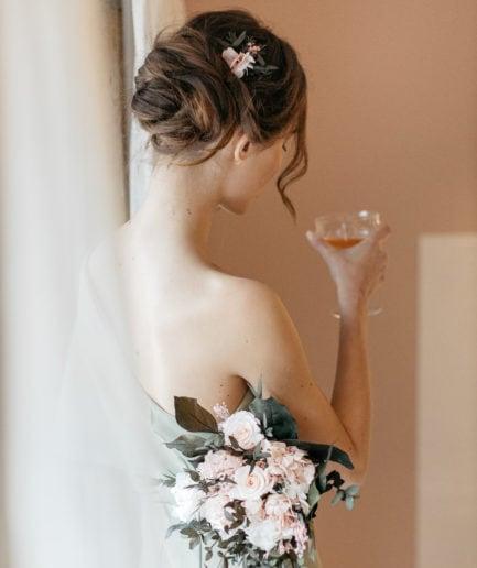 Bouquet en fleurs stabilisées Lima