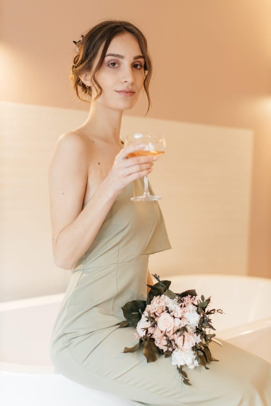 Bouquet lima de la mariée