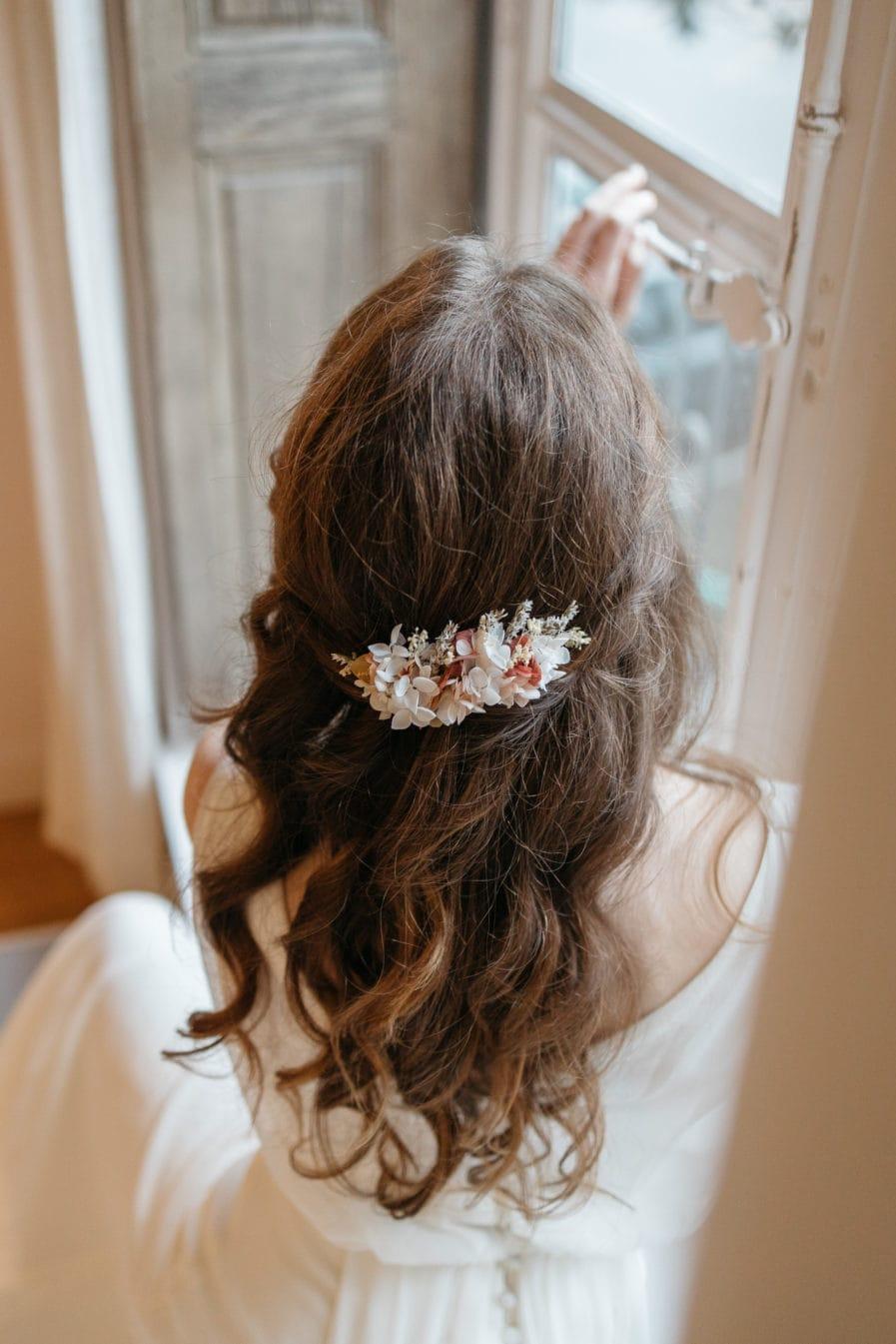 Peigne Blush de la mariée