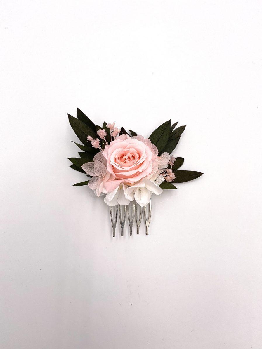 Peigne Lima mini en fleurs